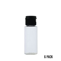 1 oz. Plastic Dispenser Bottle (6 pk)