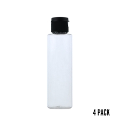 4 oz. Plastic Dispenser Bottle (4 pk)